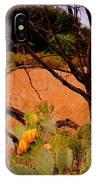 Fading Cactus IPhone Case