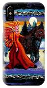 Faerie And Wolf IPhone Case