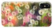 Fairy Dandelions Fields IPhone X Case