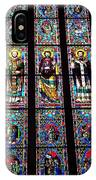 Faith In Stained Glass  IPhone Case