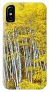 Fall Aspen Meadow IPhone Case