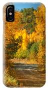 Fall Aspen Trail IPhone Case