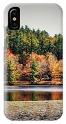 Fall At Bass Lake IPhone Case