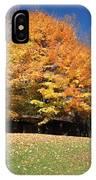 Fall At Kanuga IPhone Case