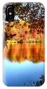 Fall At Lake IPhone Case