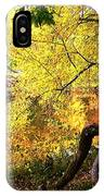 Fall At Lincoln Lake	 IPhone Case
