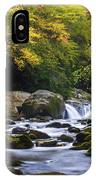 Fall At Midnight Hole IPhone Case