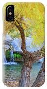 Fall At Murray Falls I IPhone Case