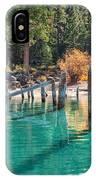Fall At Skunk Harbor Lake Tahoe IPhone Case