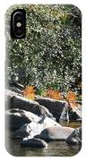 Fall At The Creek IPhone Case