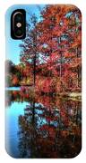 Fall At The Crosspointe Lake IPhone Case
