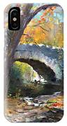 Fall At Three Sisters Islands IPhone Case