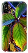 Fall Blackberry IPhone Case