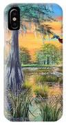 Fall Bounty- Big Cypress Swamp  IPhone Case