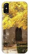Fall Church IPhone Case