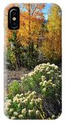 Fall Color Comes To Dillon Reservoir IPhone Case