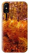 Fall Color In The Woods IPhone Case