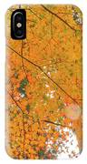 Fall Color Maple Leaves At The Forest In Aichi, Nagoya, Japan IPhone Case