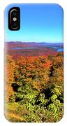 Fall Color On The Fulton Chain Of Lakes IPhone Case