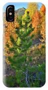 Fall Colors Along Dillon Reservoir IPhone Case