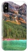 Fall Colors At Lake Louise Alberta  IPhone Case