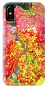 Fall Colors At The Vineyard IPhone Case