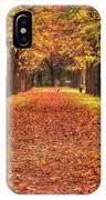Fall Colors Avenue IPhone Case