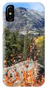 Fall Colors In Rocky Mountain National Park IPhone Case