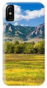 Fall Colors Of Boulder Colorado IPhone Case