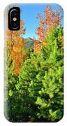 Fall Comes To Dillon Colorado IPhone Case