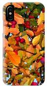 Fall Crab Apples IPhone Case