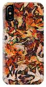 Fall-dm IPhone Case