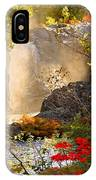Fall Falls Mist  Dead River Falls  Marquette Mi IPhone Case