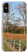Fall Fence IPhone Case