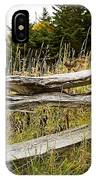 Fall Fencing IPhone Case