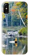 Fall Fishing IPhone Case