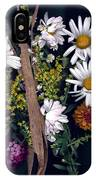 Fall Floral Collage IPhone Case