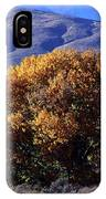 Fall Foliage And Hills, Carson City IPhone Case