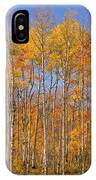 Fall Foliage Color Vertical Image IPhone Case