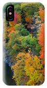 Fall Foliage In Hudson River 1 IPhone Case