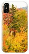 Fall Foliage In The Mountains IPhone Case