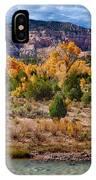 Fall Foliage Near Ghost Ranch IPhone Case