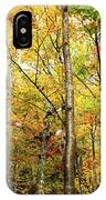 Fall Foliage On The Hike Up Mount Monadnock New Hampshire IPhone Case