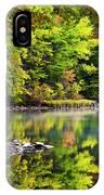 Fall Foliage Reflection IPhone Case