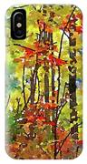 Fall Forest 2 IPhone Case