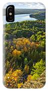Fall Forest And Lake Top View IPhone X Case