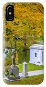 Fall Graves IPhone Case