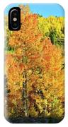 Fall Hillsides Above Dillon Reservoir IPhone Case
