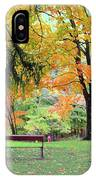 Fall In Brown County IPhone Case