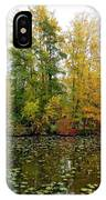 Fall In Kaloya Park 10 IPhone Case